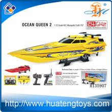 Оптовые 2.4GHZ 1:12 Радиоуправляемая лодка для приманки для продажи 550 тип моторный CE отчет об испытаниях Ocean Queen 2 H135907