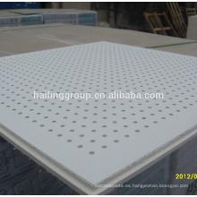 Línea de fabricación de losetas de techo perforado