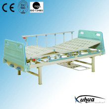 Zwei Kurbeln Manual Hospital Medical Bed (B-2)