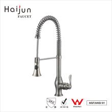 Haijun Top-Selling cUpc sola manija cubierta montada mezclador grifo de la cocina