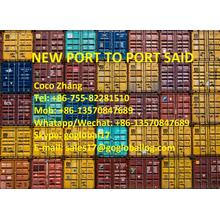 Foshan New Port Sea Freight a Egypt Port Said