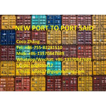 Foshan New Port Sea Freight ke Mesir Port Said
