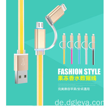 2 in 1 Mode-Stil USB-Kabel