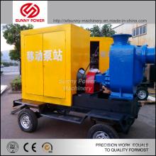 Unité de pompe à eau de 8 pouces avec moteur diesel pour l'irrigation agricole