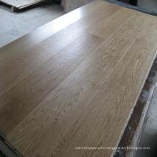 Brushed UV Lacquered Engineered Oak Wood Flooring