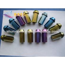 Preço de TA1, TA2, TA3 parafuso de titânio anodizado