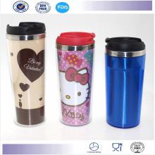 Venta caliente Starbucks taza vaso café taza promocional plástico taza de café
