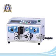 Corte automático do fio e máquina de descascamento de cabo com SGS
