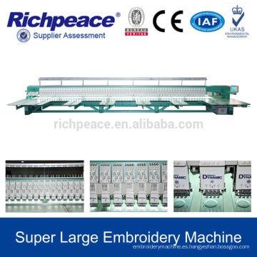 Venta automatizada computarizada de la máquina del bordado del volite para la venta
