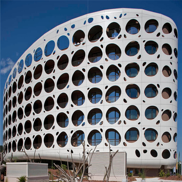 aluminium perforated steel rainscreen cladding Panels