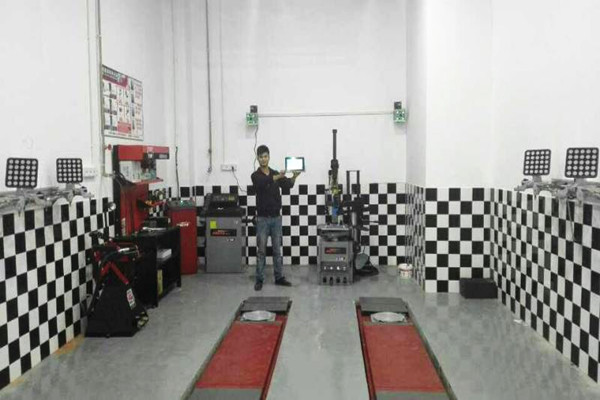 Portable 3D Wheel Alignment Machine