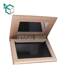 recycled popular customized cosmetic cardboard eyeshadow paper box packaging