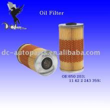 Elemento filtrante de óleo 650 203 para Land Rover