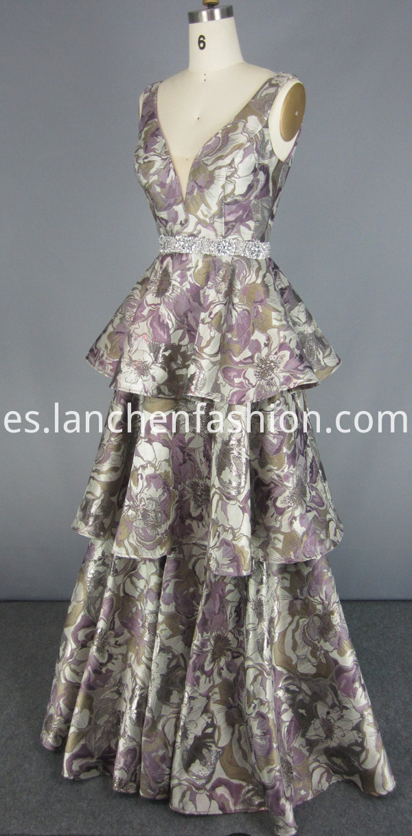 High Quality Flower Prom Dress