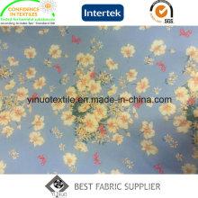 Venda quente 100% Poliéster Tecido Impresso para Vestuário de Senhora