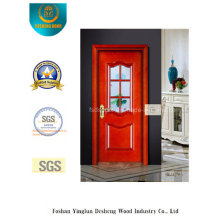 Simplestyle Security Steel Door with Glass for Interior or Exterior