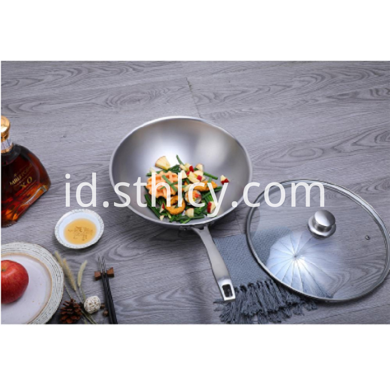 Stainless Steel Non-stick Frying Pan
