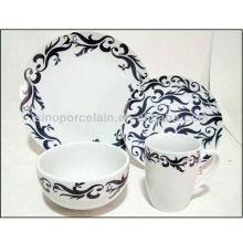Nice 16pcs porcelana Coup jantar conjunto BS130304B