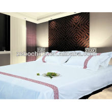 High quality direct factroy made 100% cotton wholesale 5 star elegant hotel bedding set
