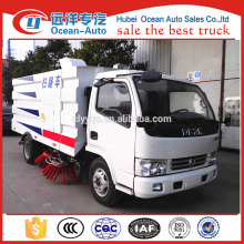 DFAC 5.5cbm new condition vacuum street sweeper/road sweeper truck for sale