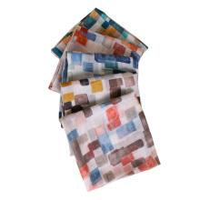Fashion women shawl pashmina cotton print hijab scarf thailand