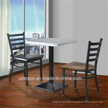 (SP-LC285) Cafe Ladder Back Metal Restaurant Chair with Vinyl Seat