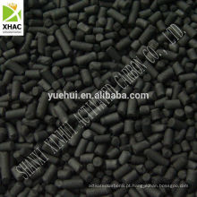 Carvão ativado extrudido para uso em Purificação do Ar
