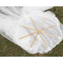 Hanging mosquito net for outdoor gazebo