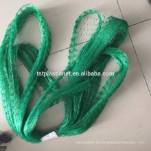 Malla de alambre plástica del pájaro del HDPE virginal / cubierta de las frutas contra la red del pájaro