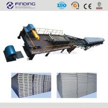 Linha de produção de painel de sanduíche de PU máquina formadora de espuma EPS