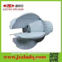 Échangeur de chaleur à lumière moulée en aluminium à usure durable avec design spécial