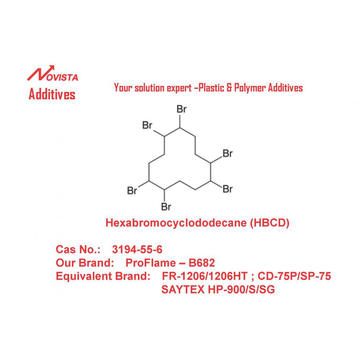 HBCD Hexabromocyclododecane brandvertragend 3194-55-6