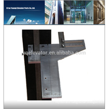 Elevator tool used for lift guide shoe, elevator ruler guide