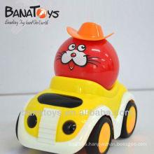 902016763 RC coche de juguete de dibujos animados, 4 funciones, con la luz, las baterías no incluidas