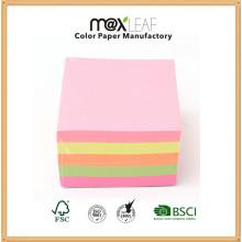Cubo de papel de cor Cubo Memo