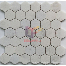 Crystal White Marble Stone Mosaic (CFS1049)
