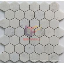 Crystal White Marble Stone Mosaic (CFS1049)