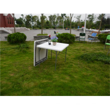 87cm Outdoor Furniture of Plastic Folding Table for Part Use