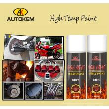 Pintura de aerosol de alta temperatura, pintura resistente al calor, pintura de Exhuast, pintura del motor