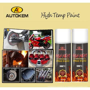 Pintura de alta temperatura do pulverizador, pintura resistente ao calor, pintura de Exhuast, pintura do motor