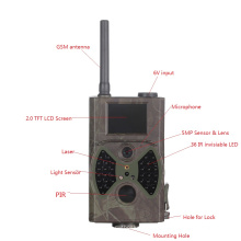 12MP Antenne Infrarouge Nuit Vision Chasse Caméra GSM MMS GPRS Email / SMS Noir IR