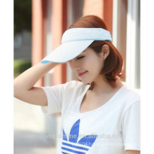 Custom Fashion Solid Color Mesh Fabric Sun Protection Visors China Factory