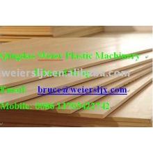 WPC placa de espuma linha-madeira máquina de placa de plástico