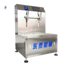 Máquina de enchimento de óleo de coco vegetal de semente de uva, soja, semente de uva de operação simples