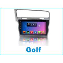 Reproductor de DVD del coche del sistema del androide para el golf con la navegación del GPS del coche