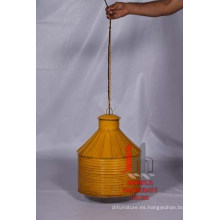 Amarillo lámpara colgante