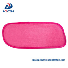 100% polyester makeup remover cloth