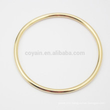 Buy From China Cheap Stainless Steel Simple Design Gold Circle Bangle