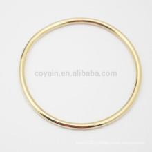 Купить из Китая Дешевые нержавеющей стали Простой дизайн Золотой круг браслет