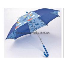 Blue Stitching Calico: Kinder Regenschirm